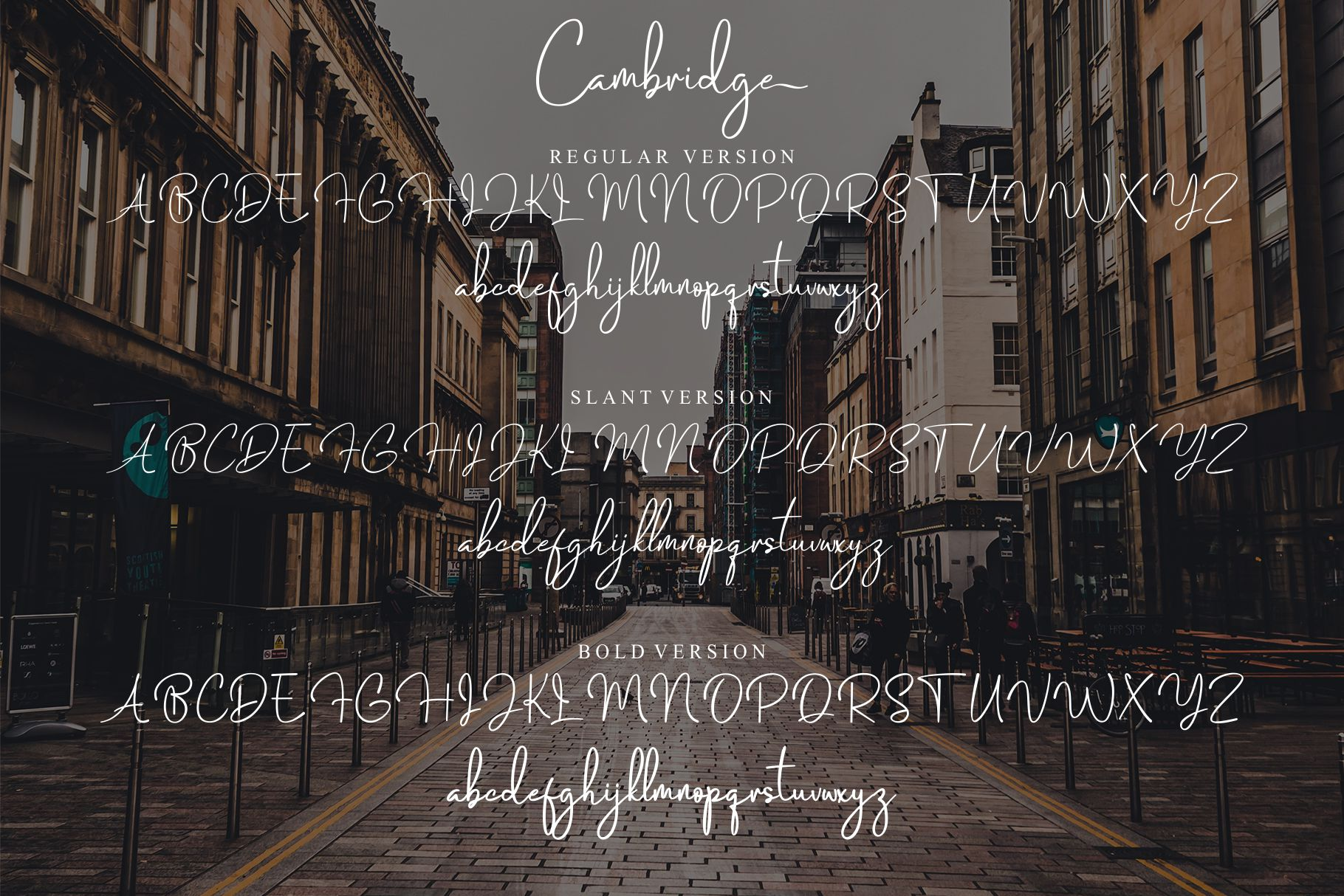 Cambridge Modern Signature example image 12