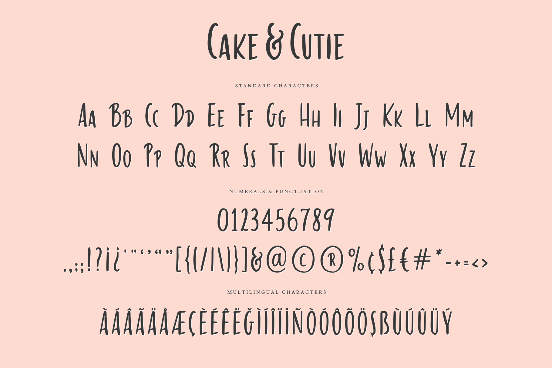 Cake & Cutie | A Handwritten Typeface example image 7