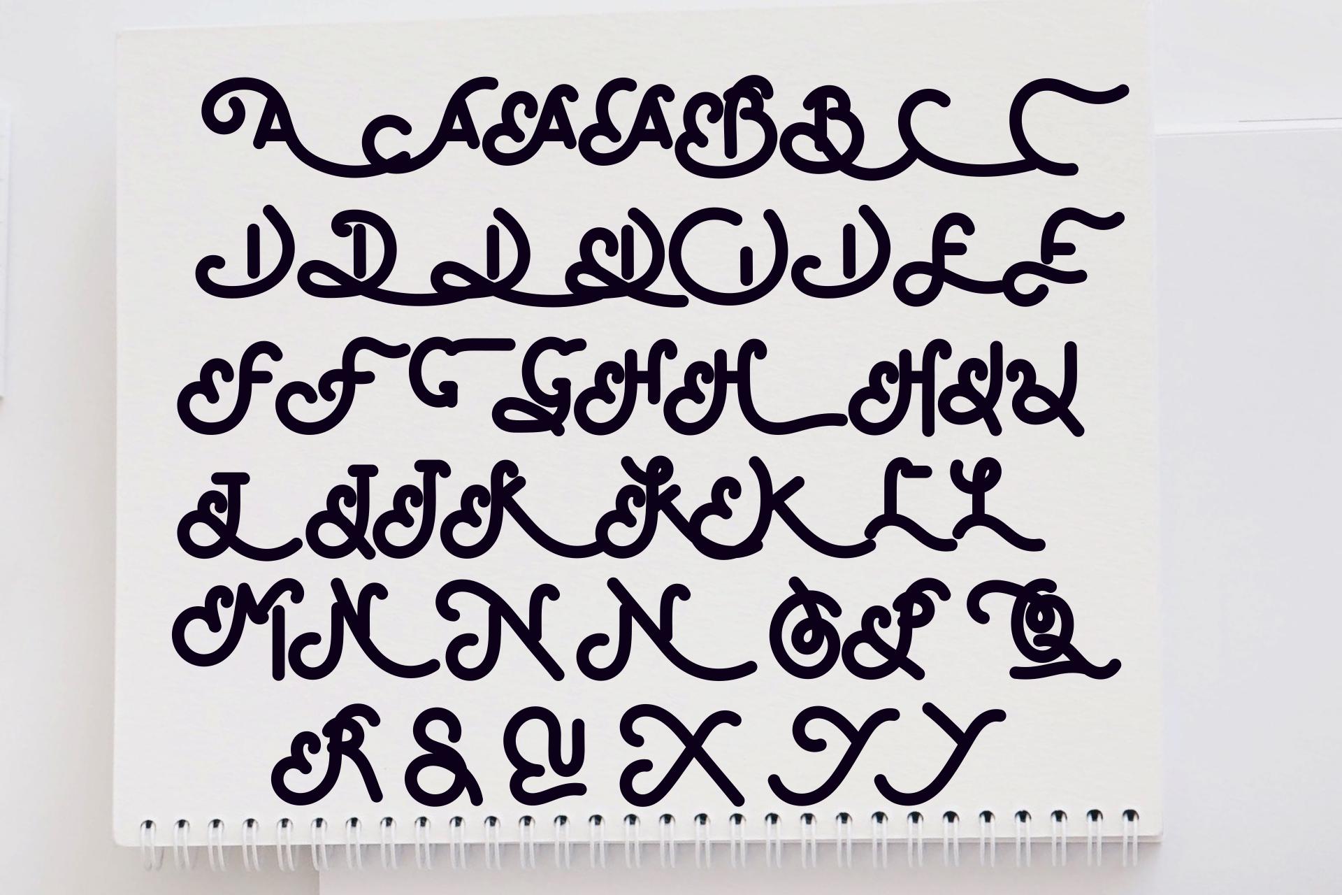 SofyanDiana Bold Monoline example image 12