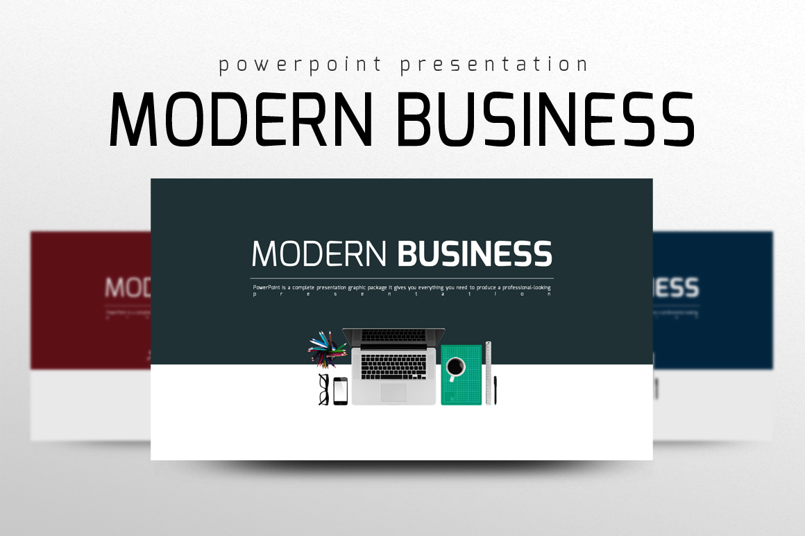 Modern Business PPT Template example image 1