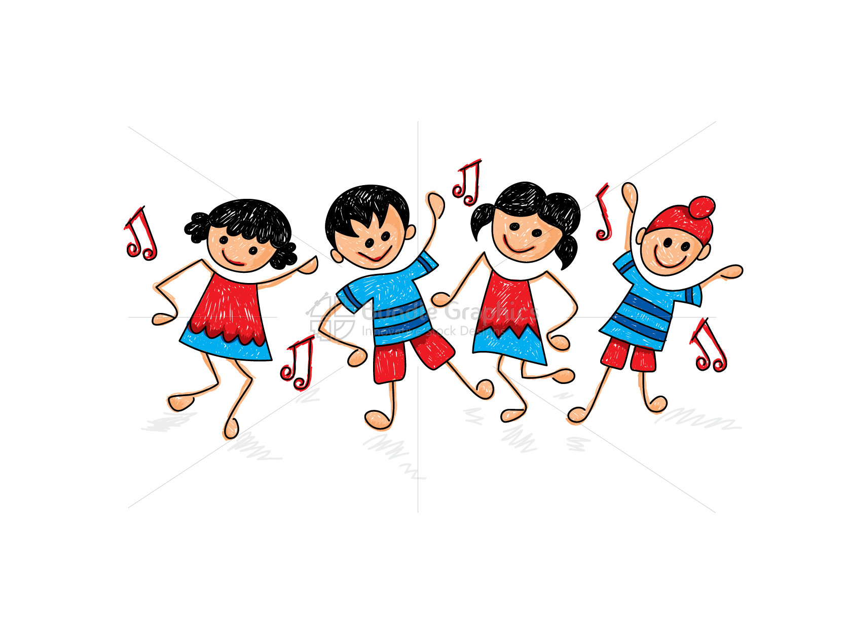 Kid Dance Activity Class Graphical Illustration example image 1
