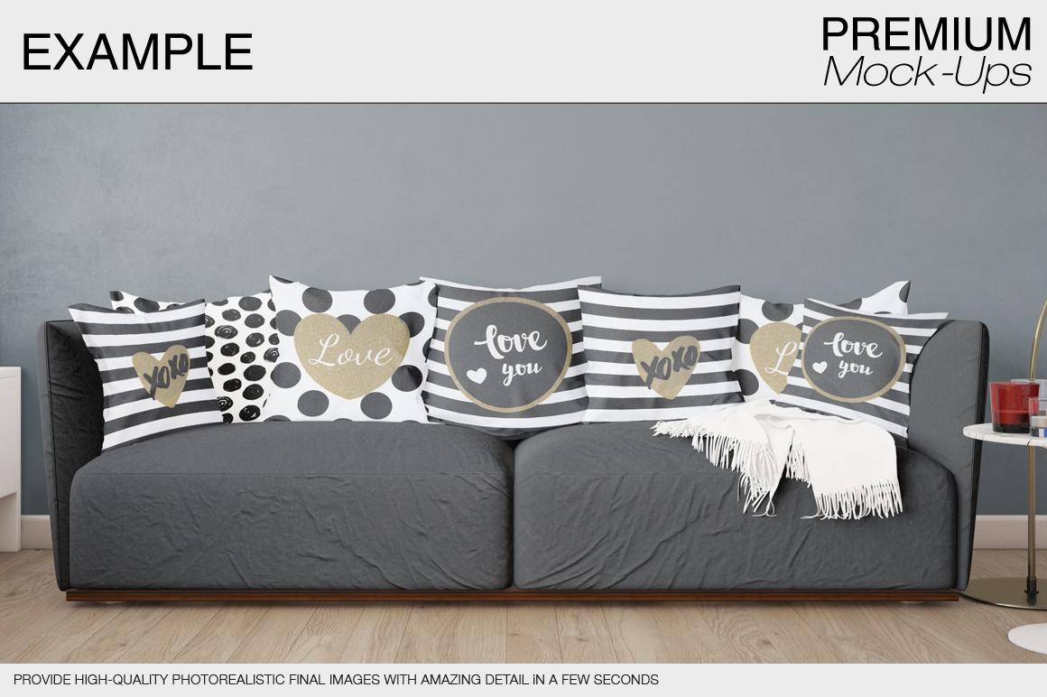 Pillow Mockup Set example image 8