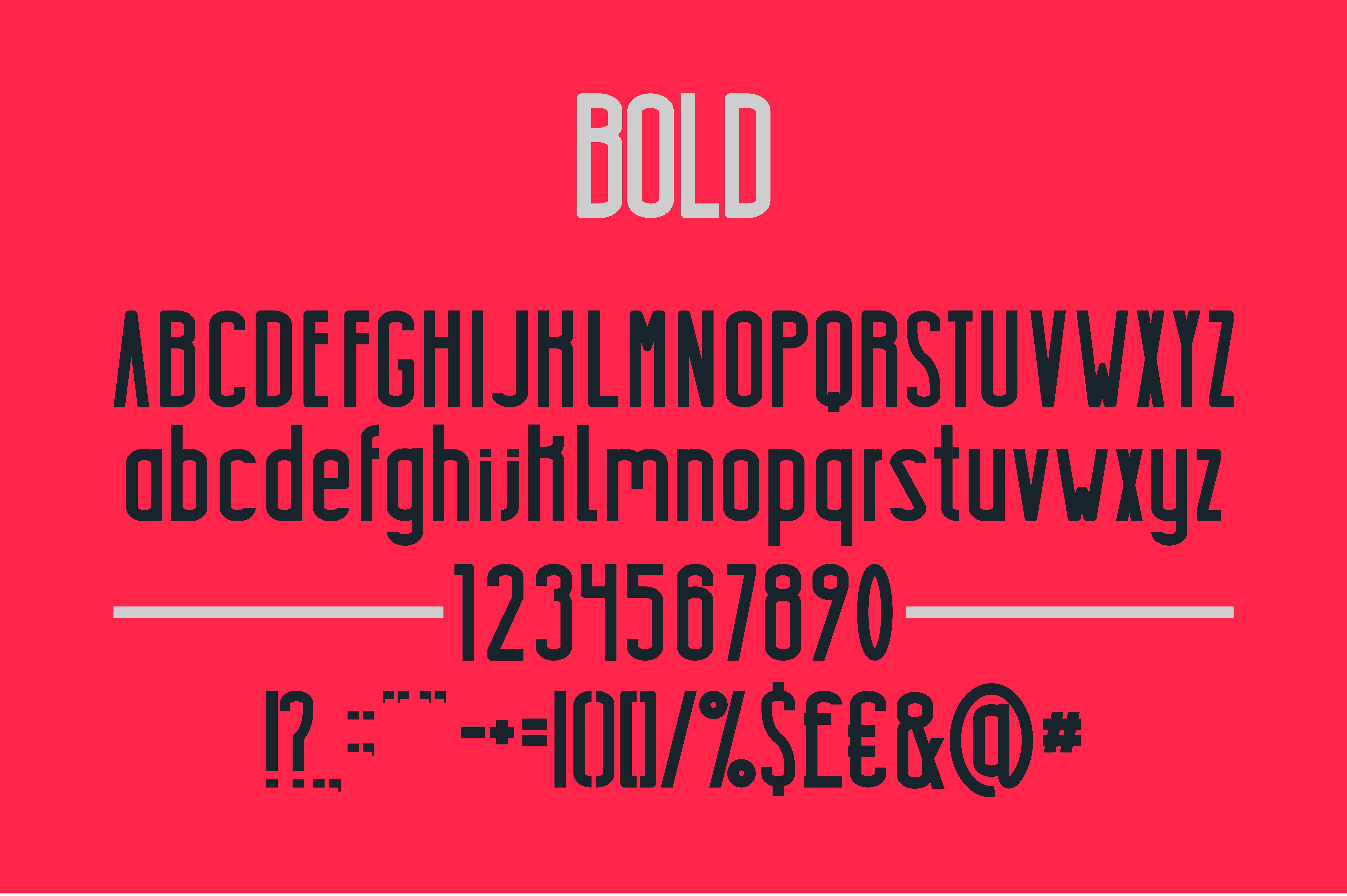 Highrise Typeface example image 4