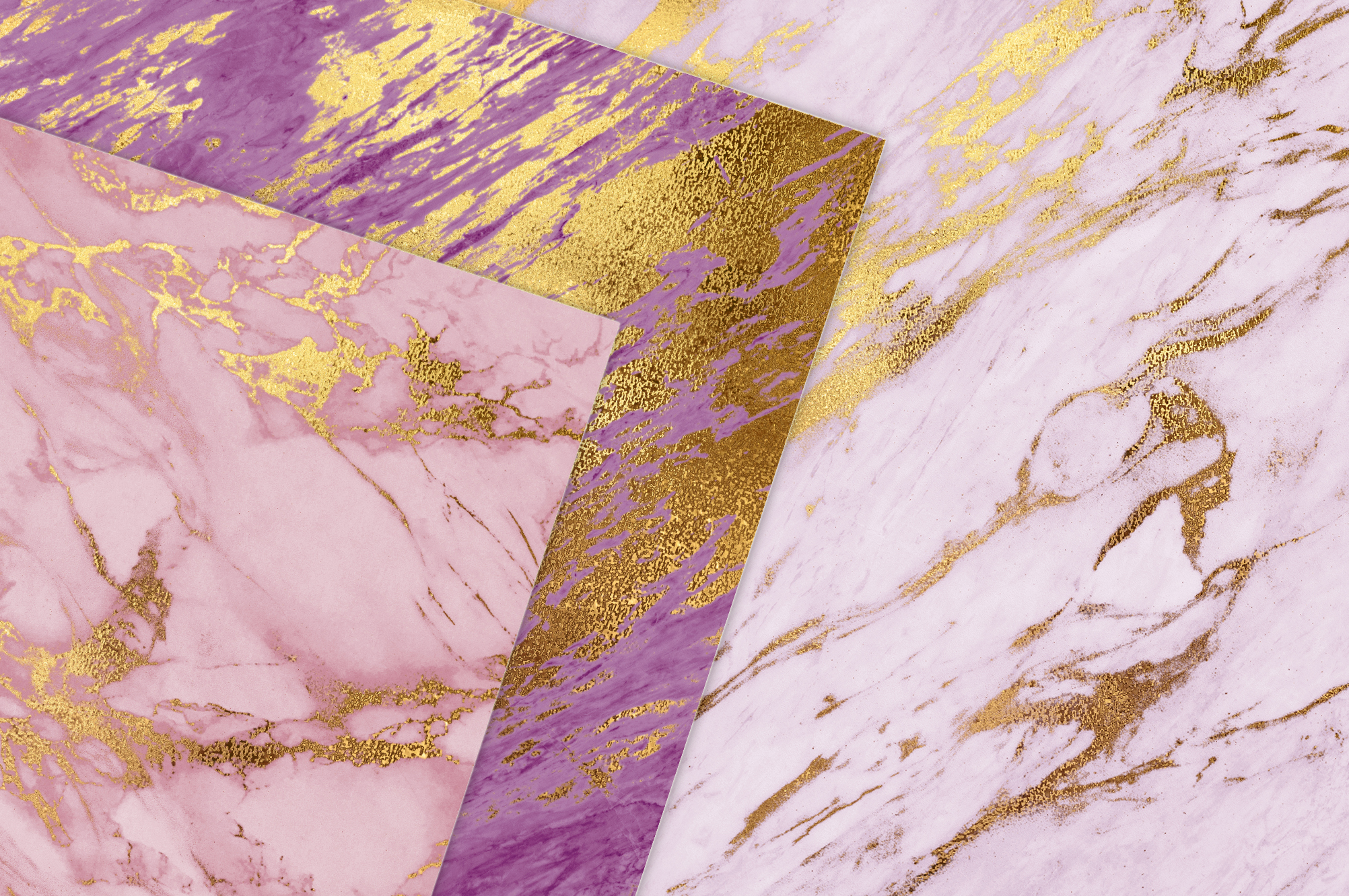 Rose Gold Marble Textures example image 2