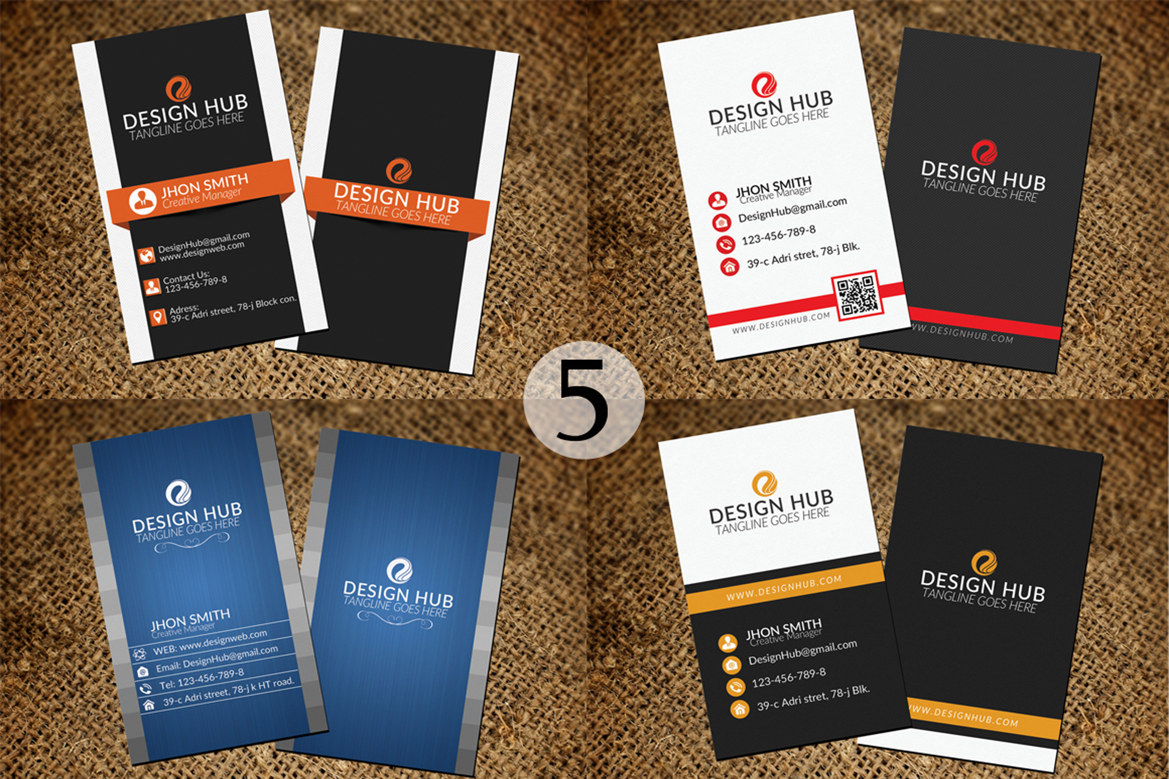 32 Business Cards Bundle Deal example image 6