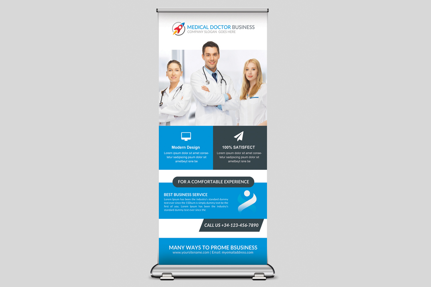 Medical Rollup Banner example image 1
