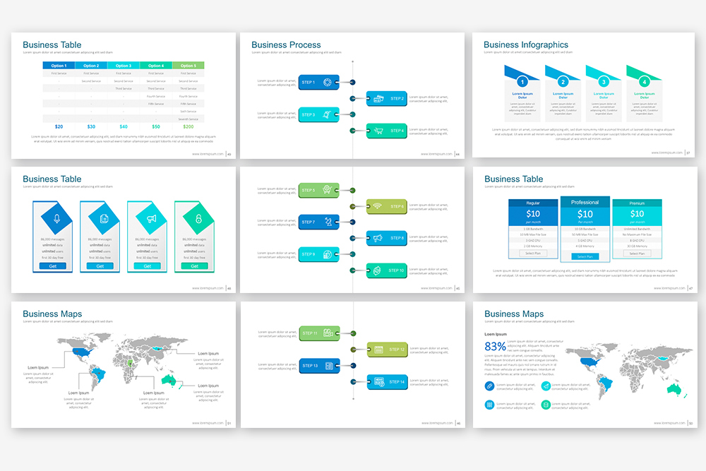 EB Powerpoint Template example image 6
