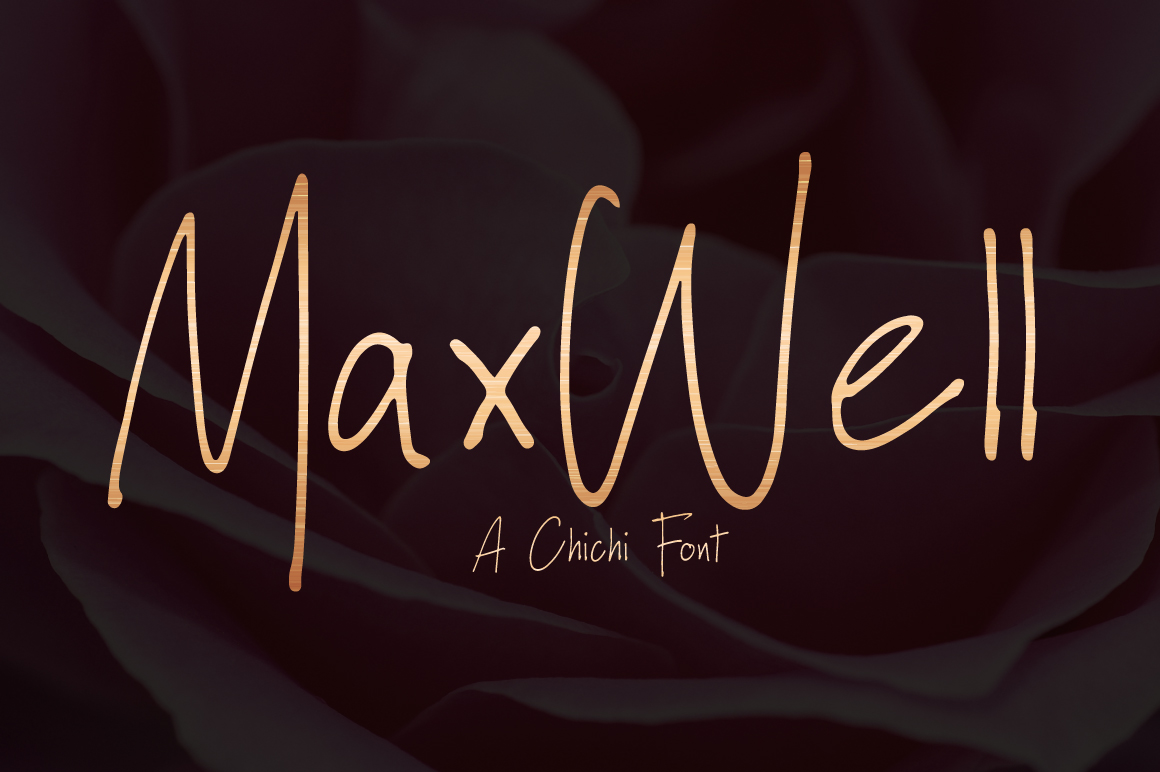 Maxwell | Handwritten Font example image 1