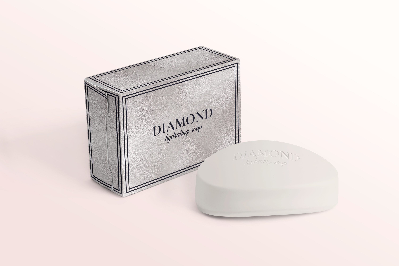 10 Diamond Foil Textures - Seamless Metallic Backgrounds example image 7