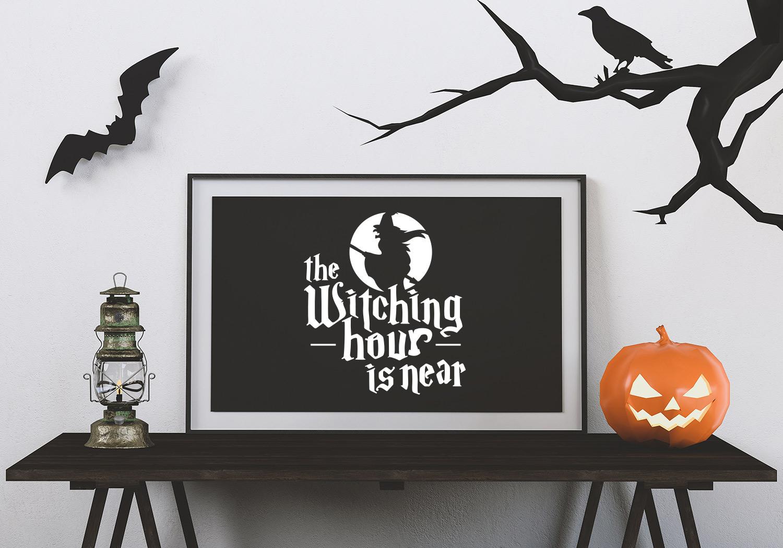 Halloween SVG Cut File Bundle example image 9