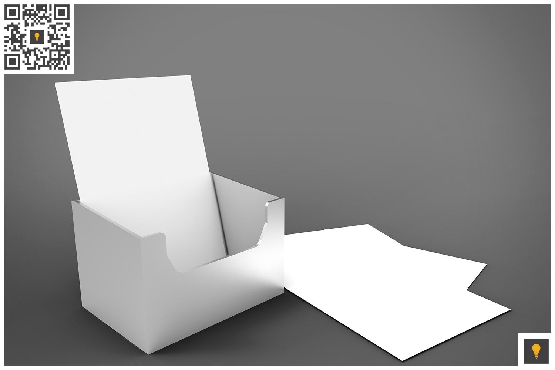 Flyer Holder 3D Render example image 3