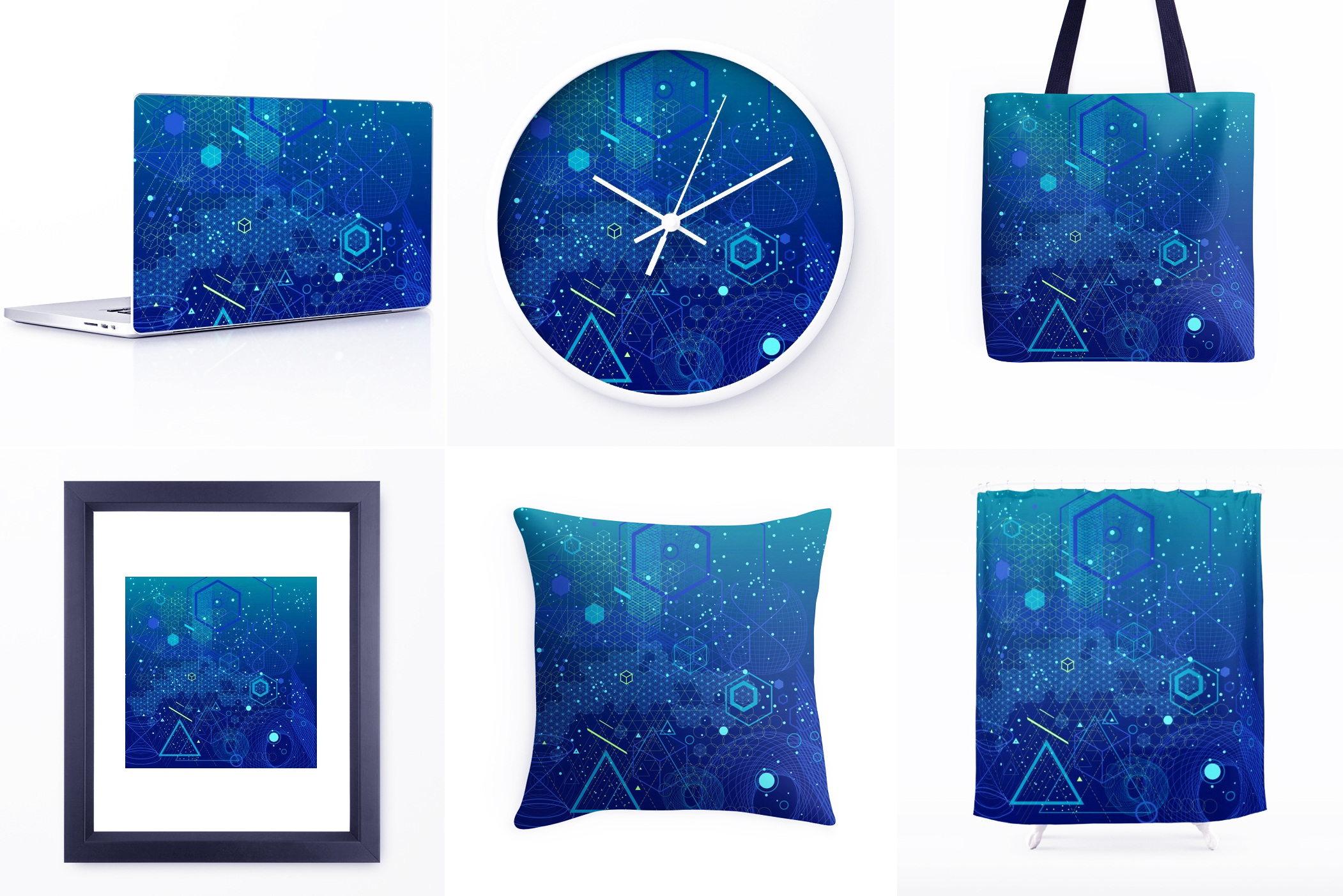 {Sacred Geometry} Vector Backgrounds example image 7