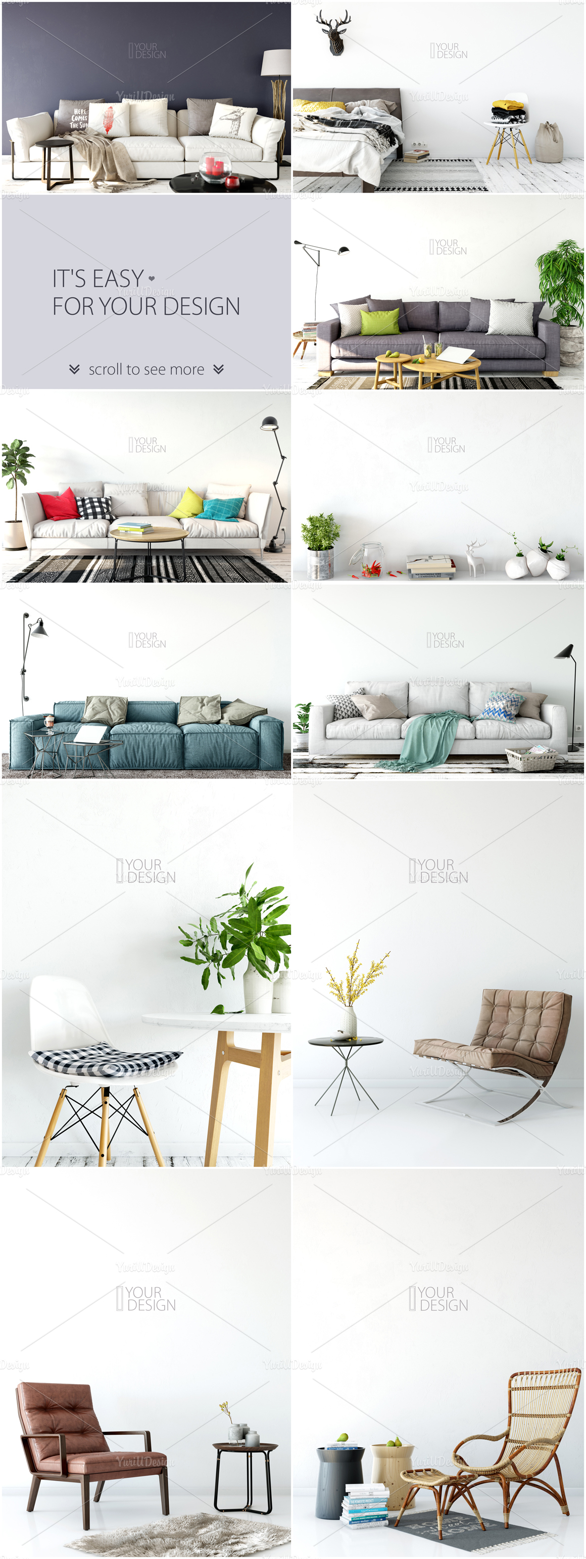 Wall Mockup - Bundle Vol. 1 example image 26