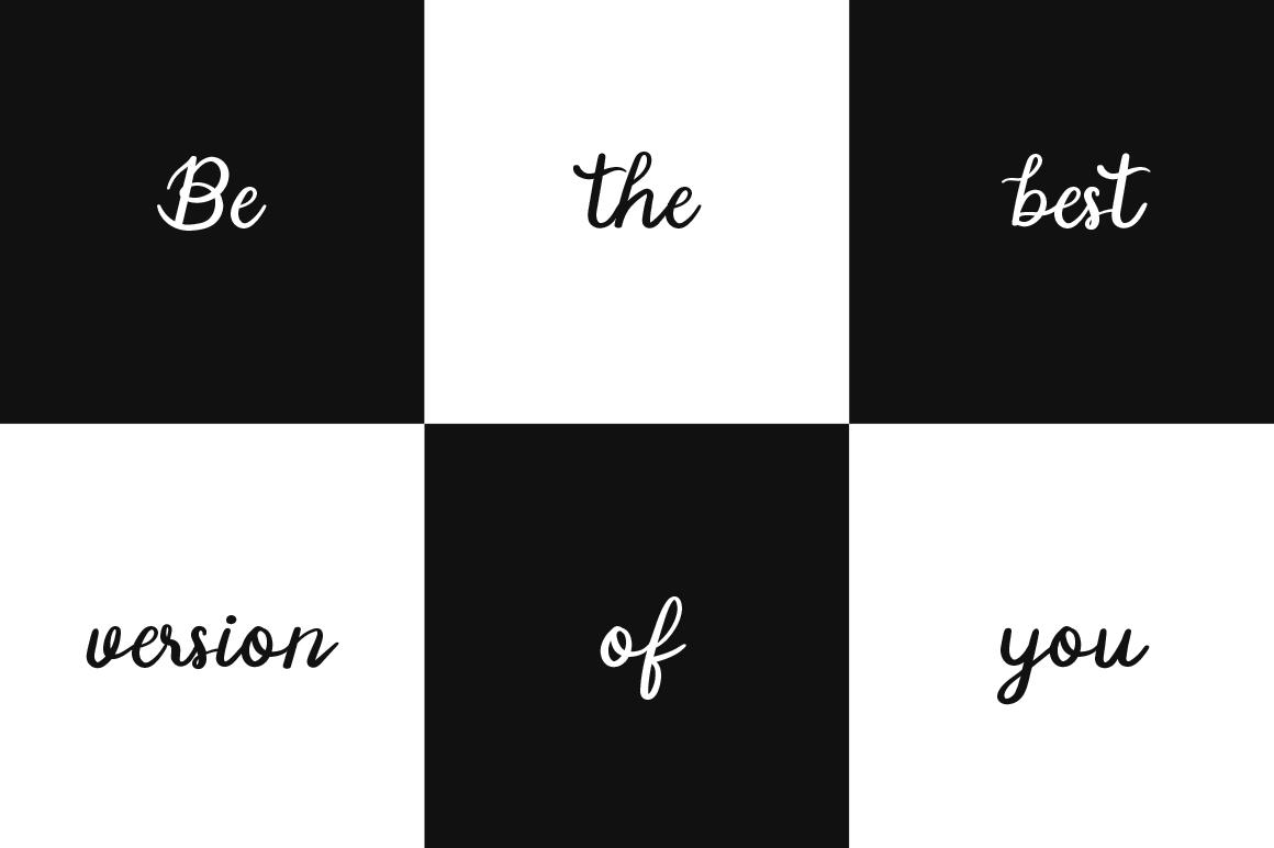 Manee Handwritten Typeface example image 3