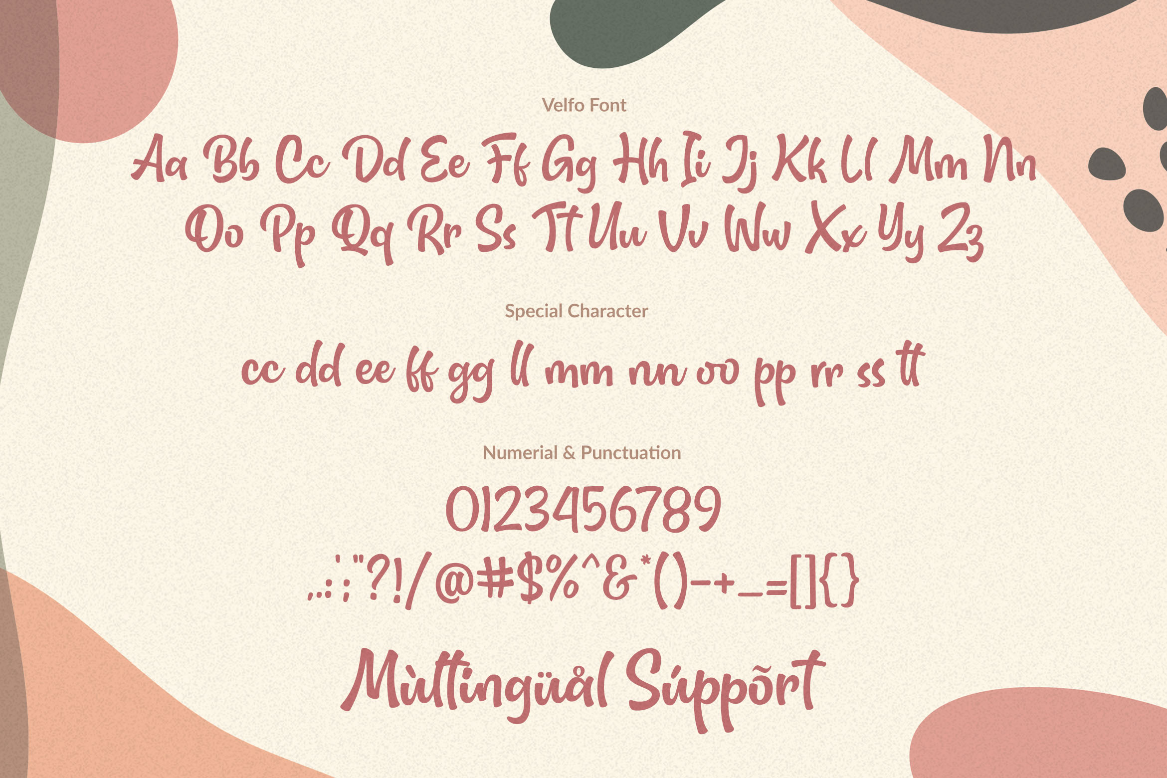 Velfo | A Lovely-Fun And Quirky Font example image 2