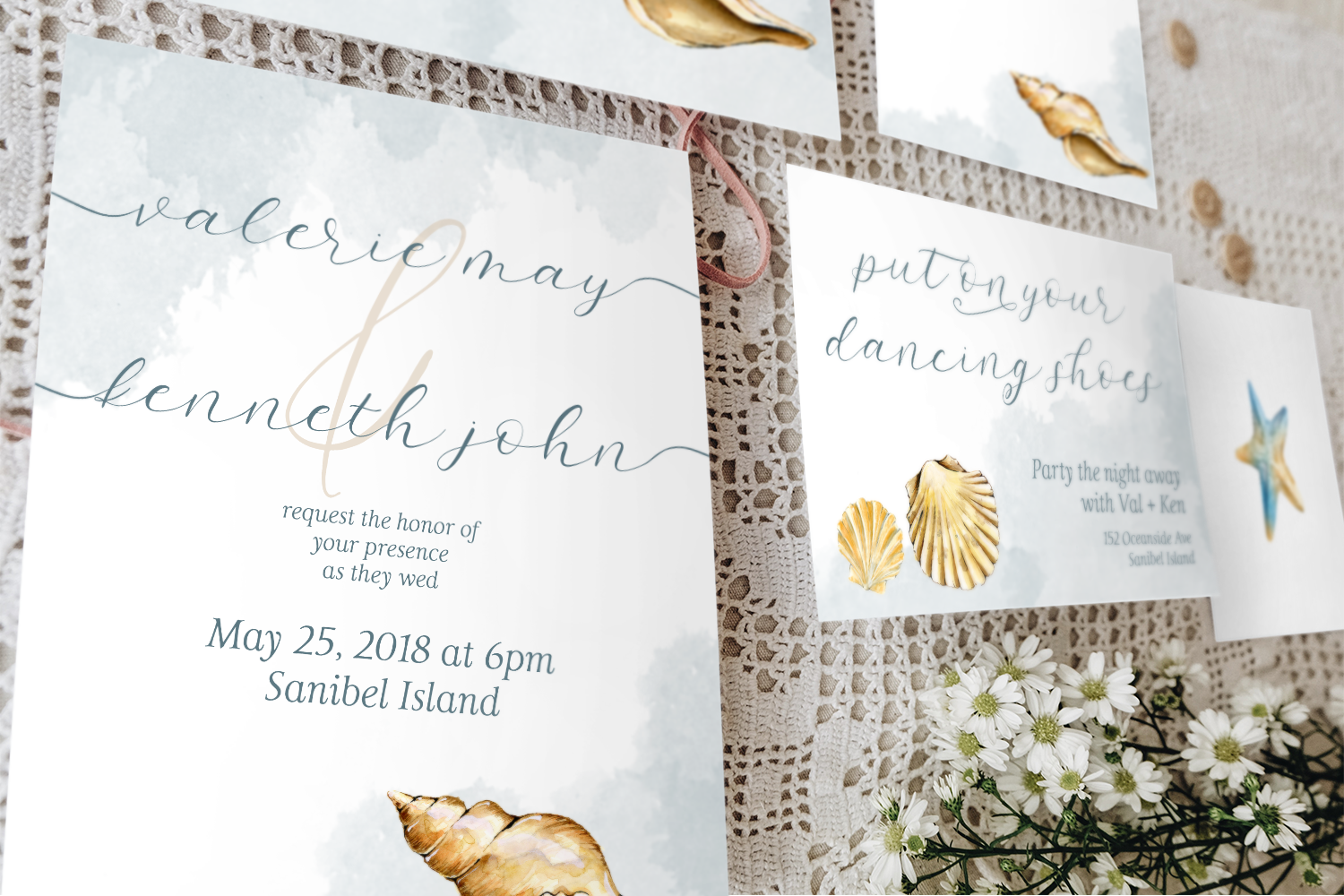 Salt and Sea Calligraphy Font example image 3