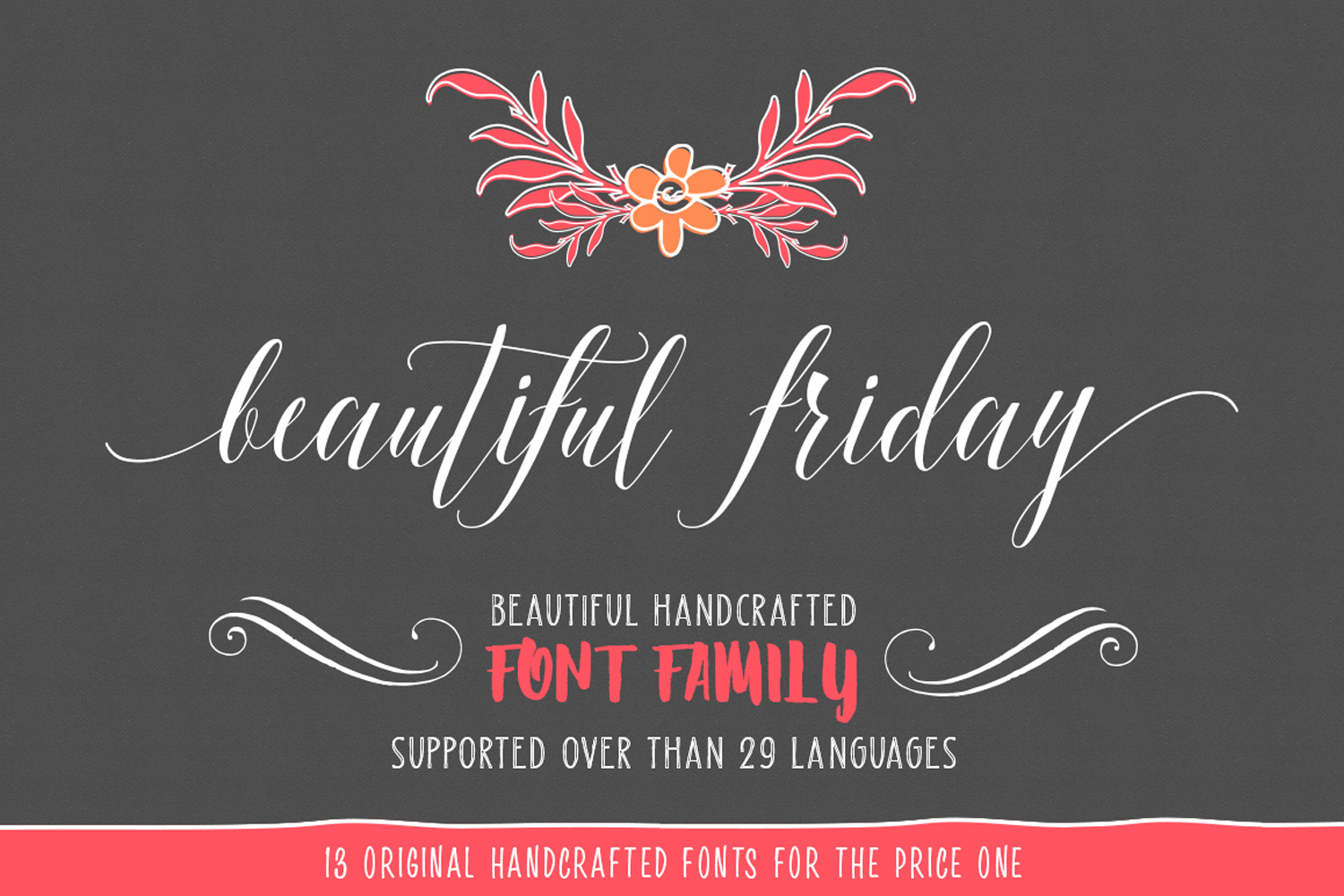Beautiful friday (13 Fonts) example image 2