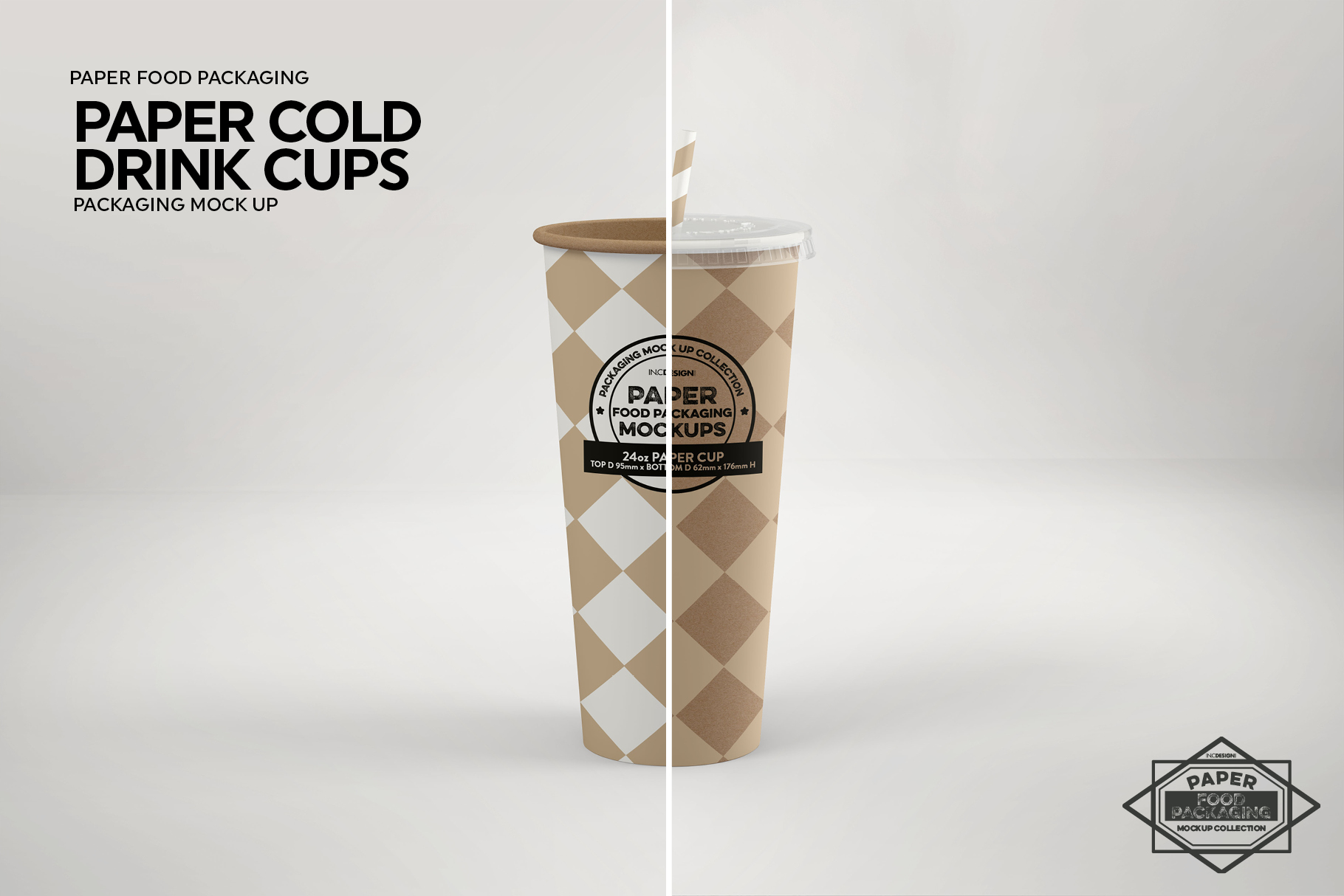 Paper Drink Cups Packaging Mockup example image 15