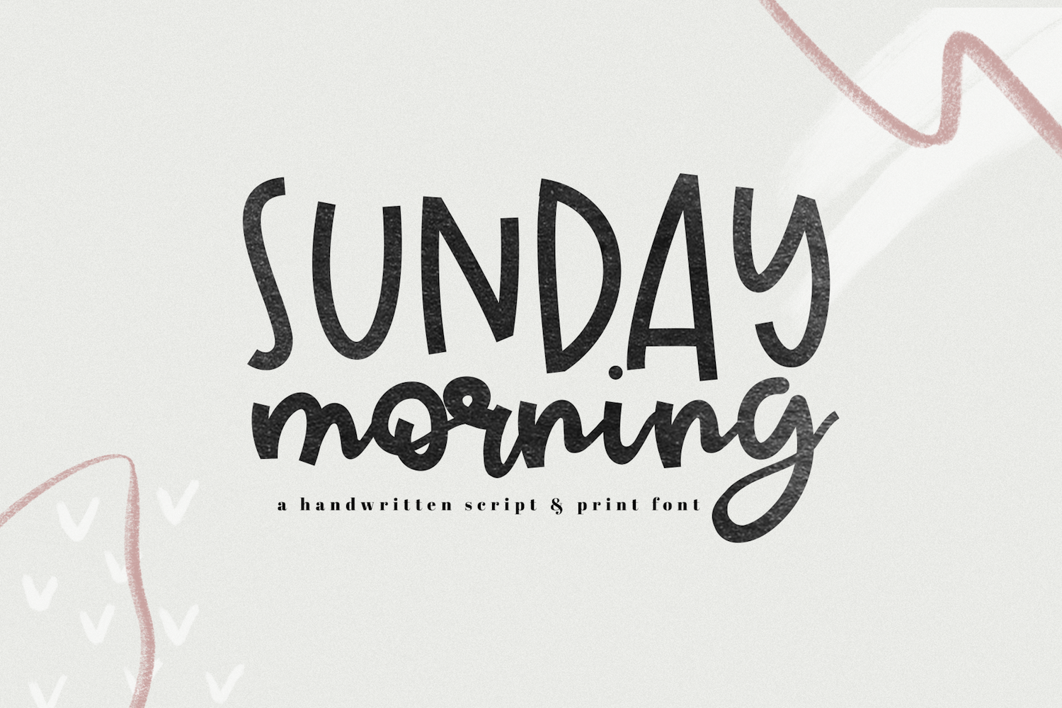 Sunday Morning - A Handwritten Script Font example image 1