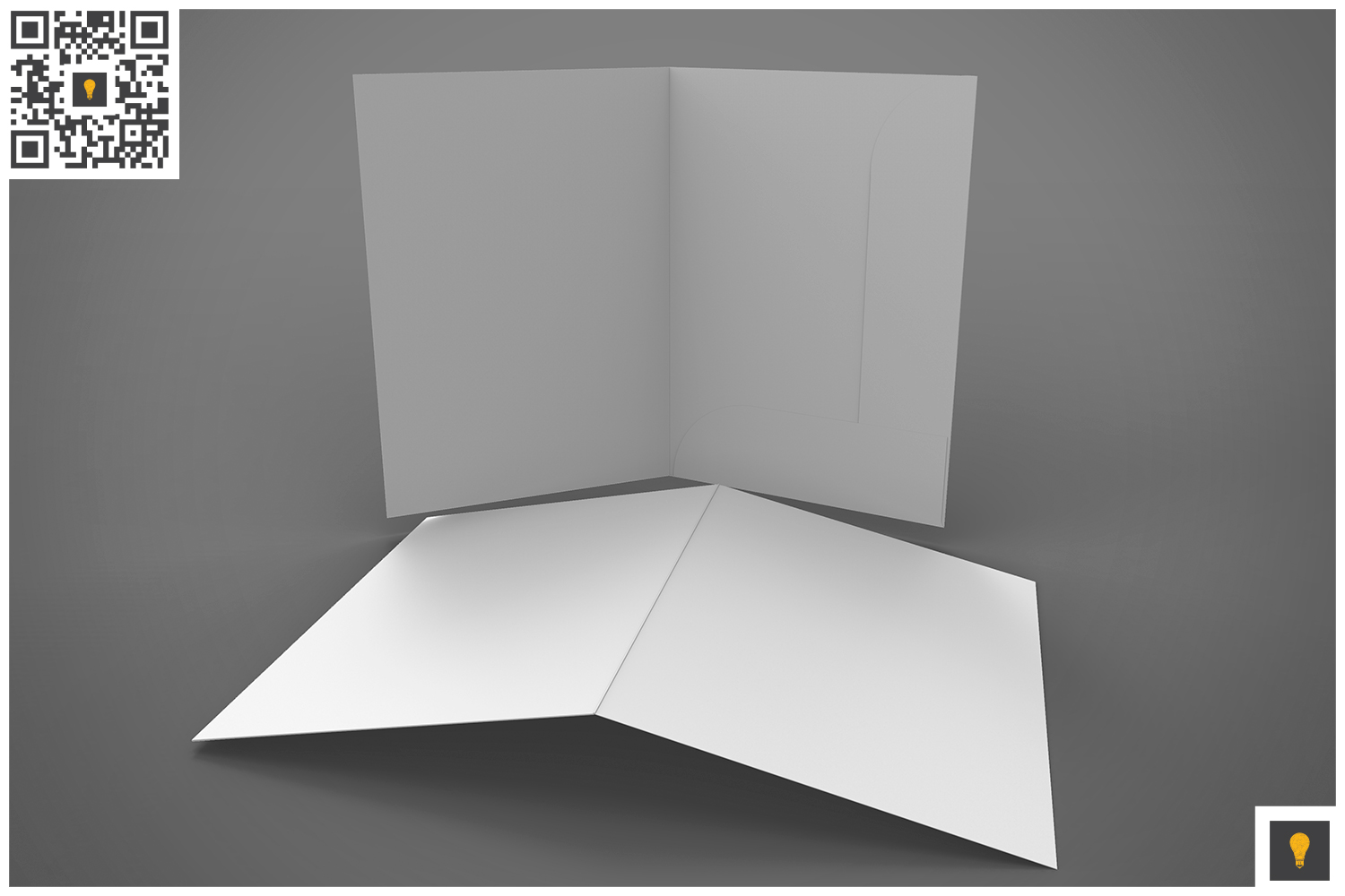Branding Stationary 3D Render example image 9