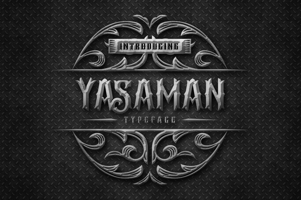Yasaman Typeface example image 1