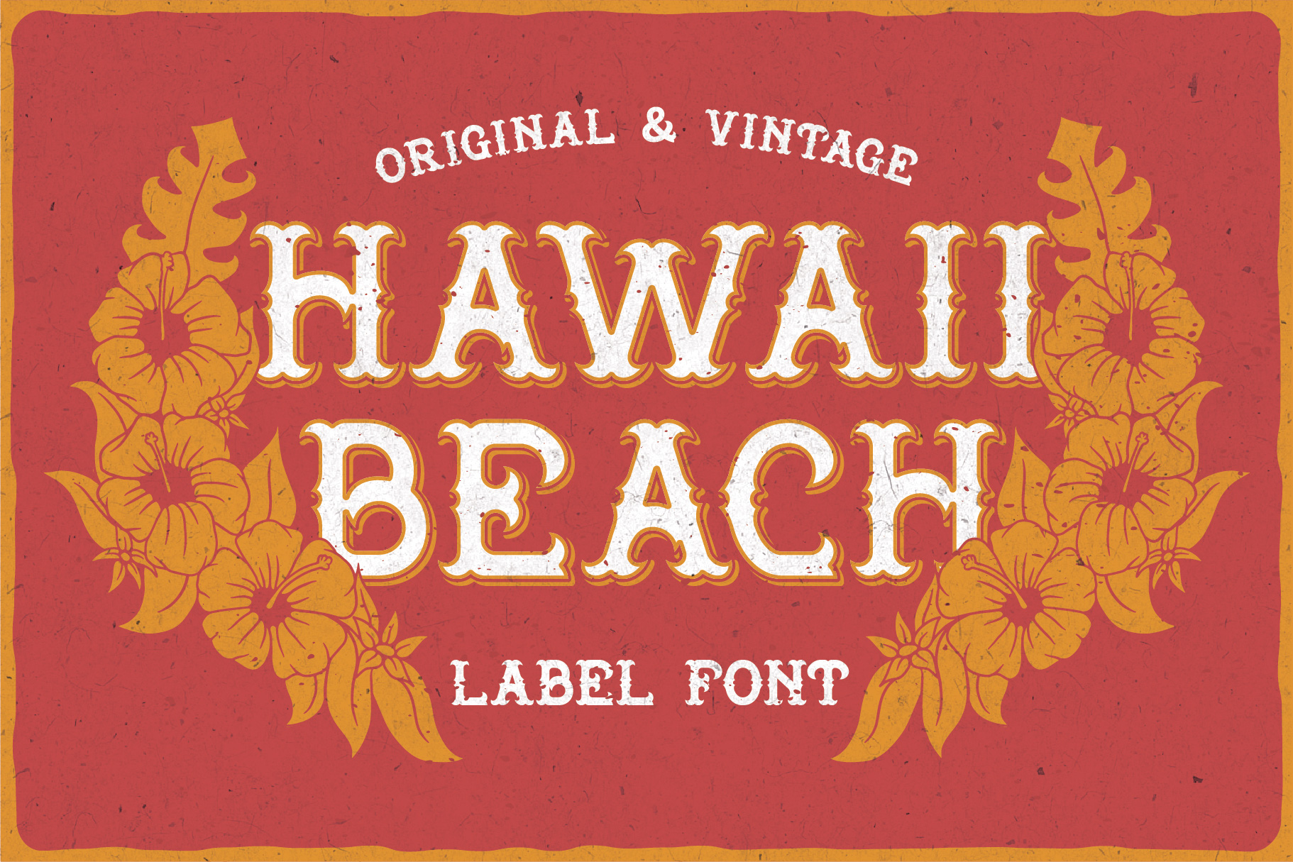 Hawaii Beach Typeface example image 5