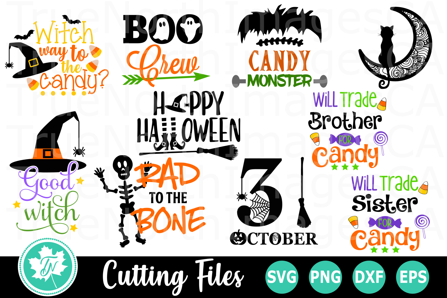 Halloween Bundle - A Halloween SVG Cut File example image 2