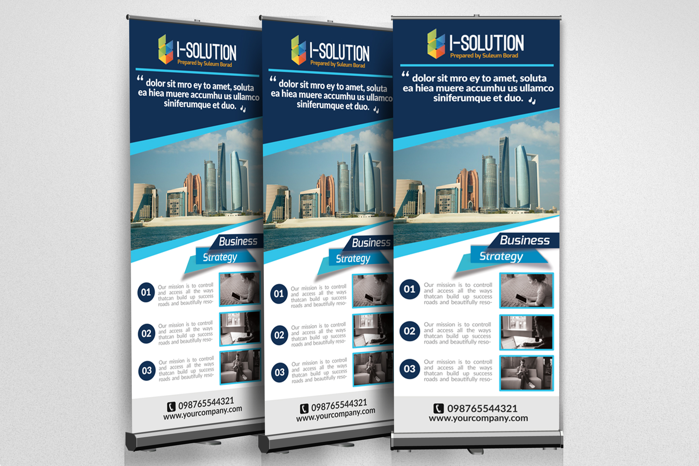 Business Promotional Roll Up Banners example image 2