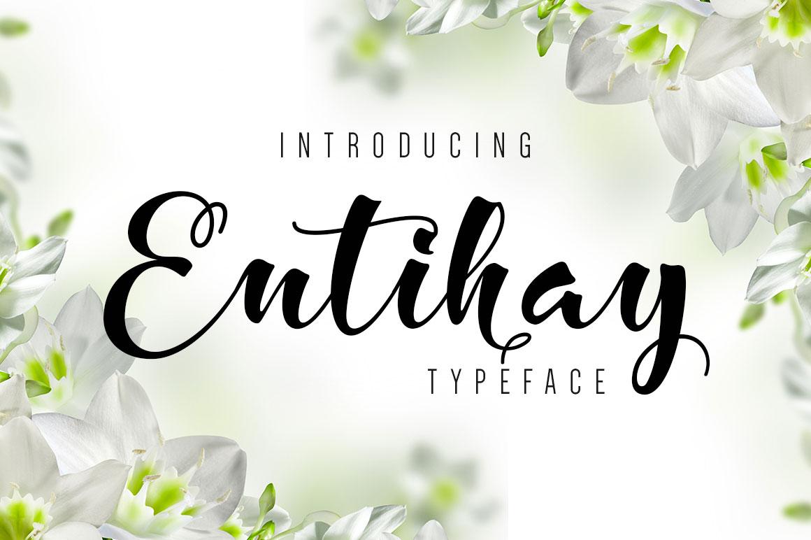 Entihay Typeface example image 1