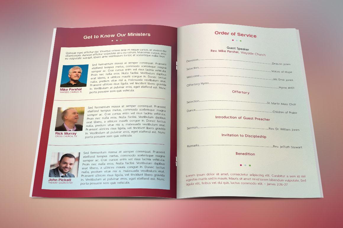 Gospel Crusade Program Template example image 3