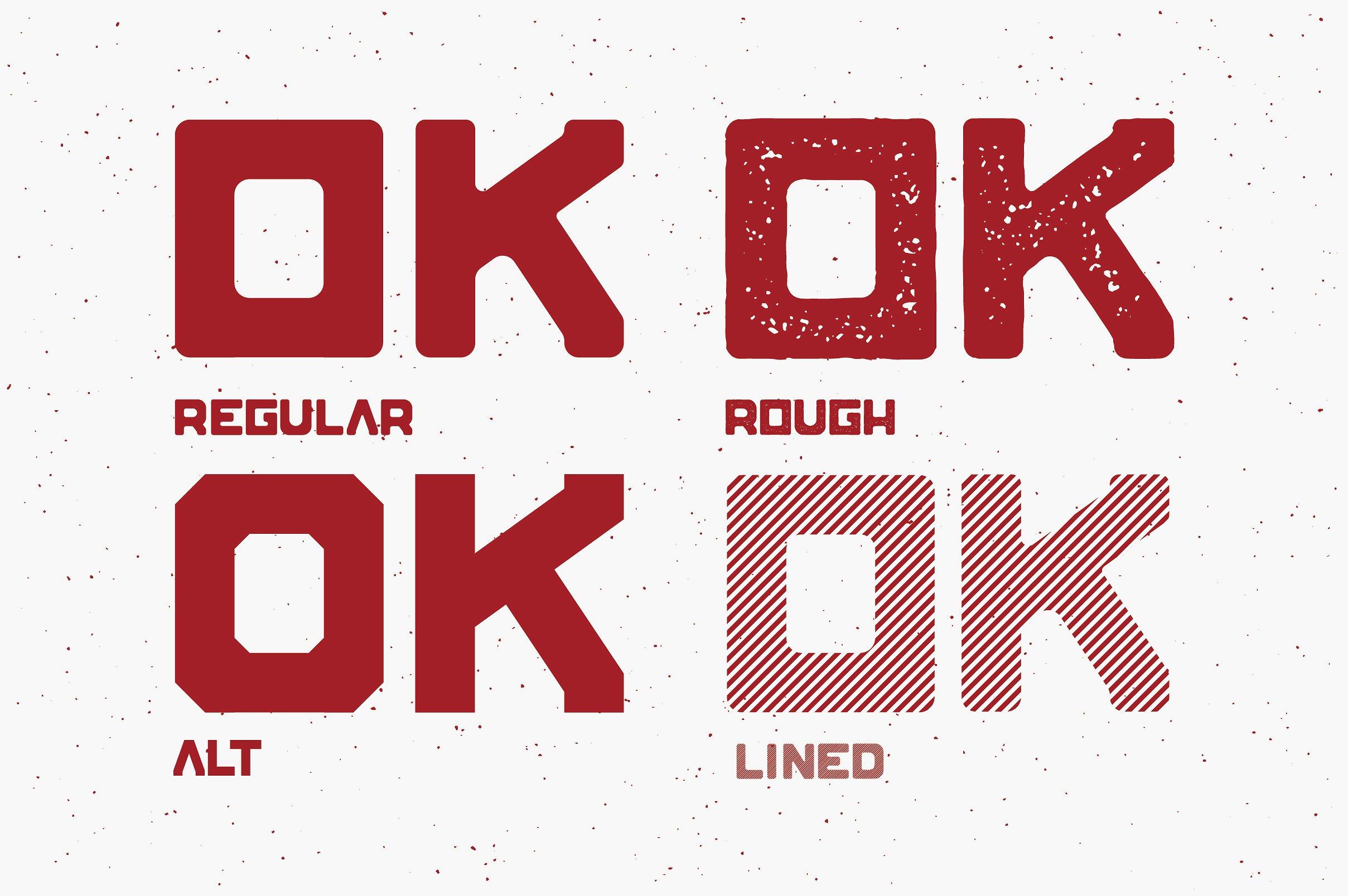 Blok Typeface example image 3