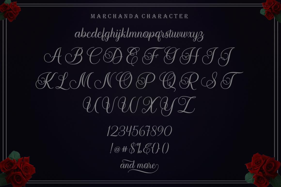 Marchanda Script example image 13
