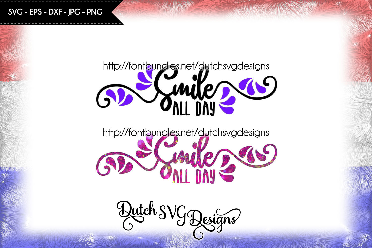 Text cutting file Smile, in Jpg Png SVG EPS DXF, for Cricut & Silhouette, smile svg, smile cut file, cricut svg, silhouette cut file, diy example image 2