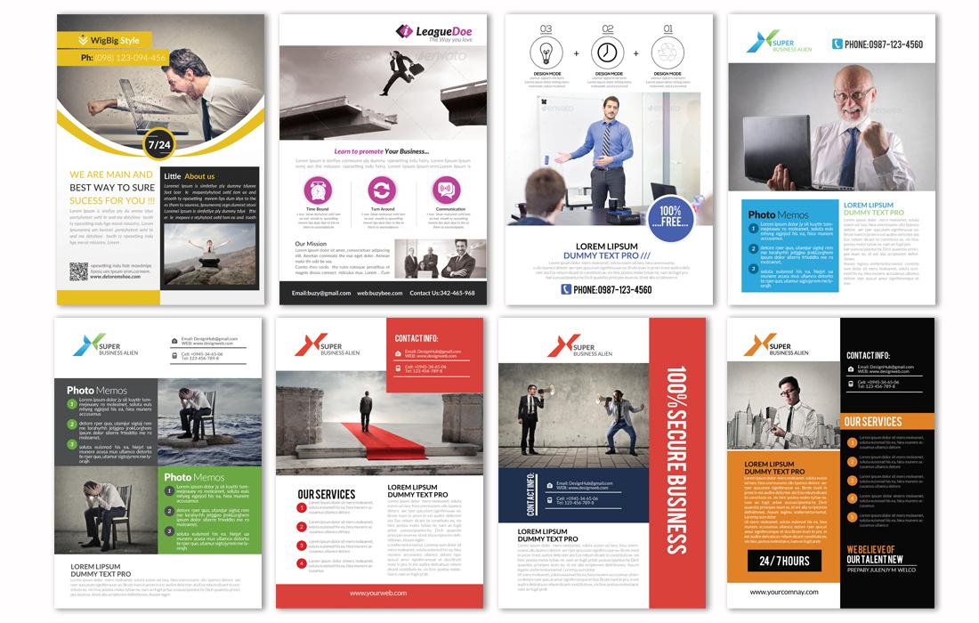 100 professional business flyers bundle design bundles