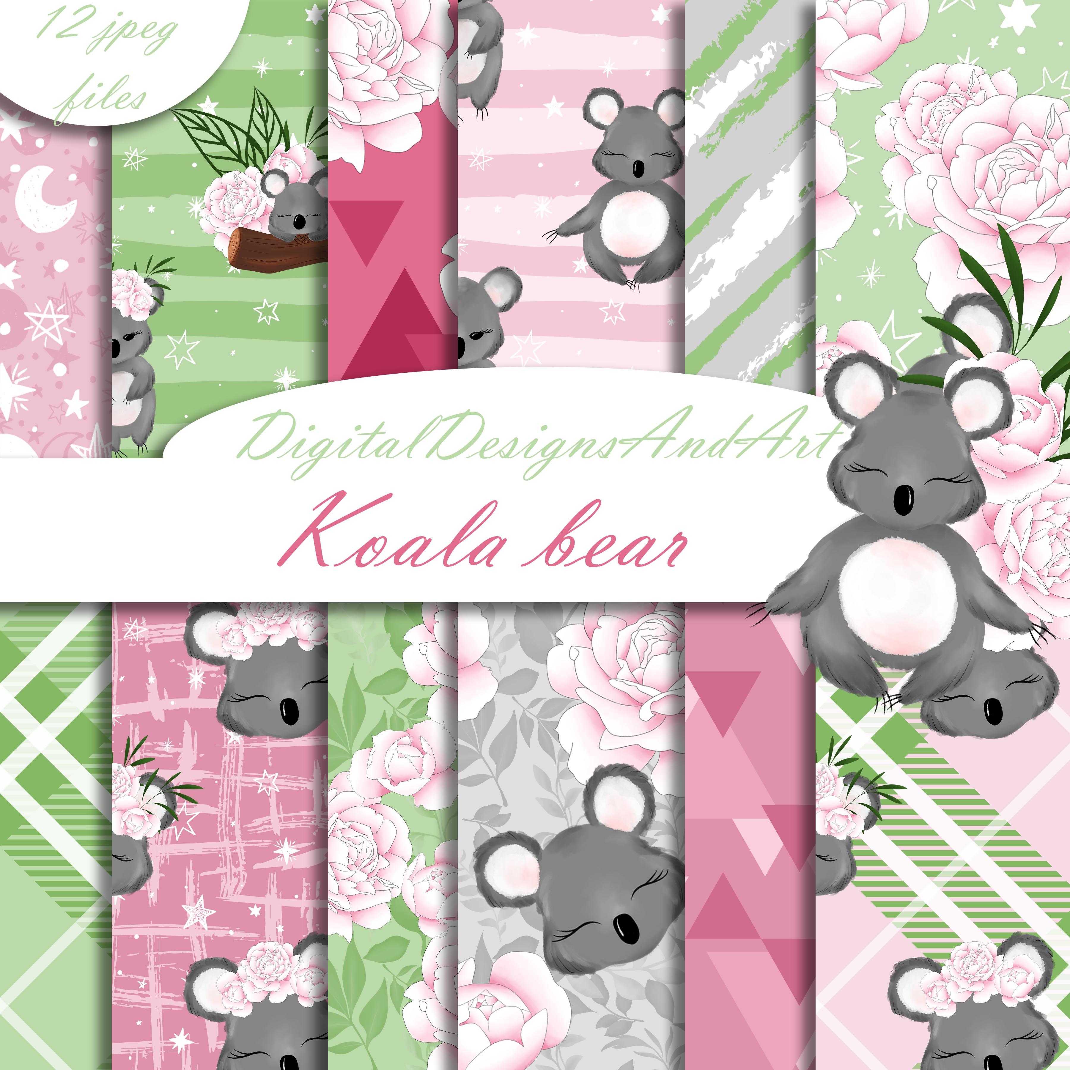 Koala pattern example image 1