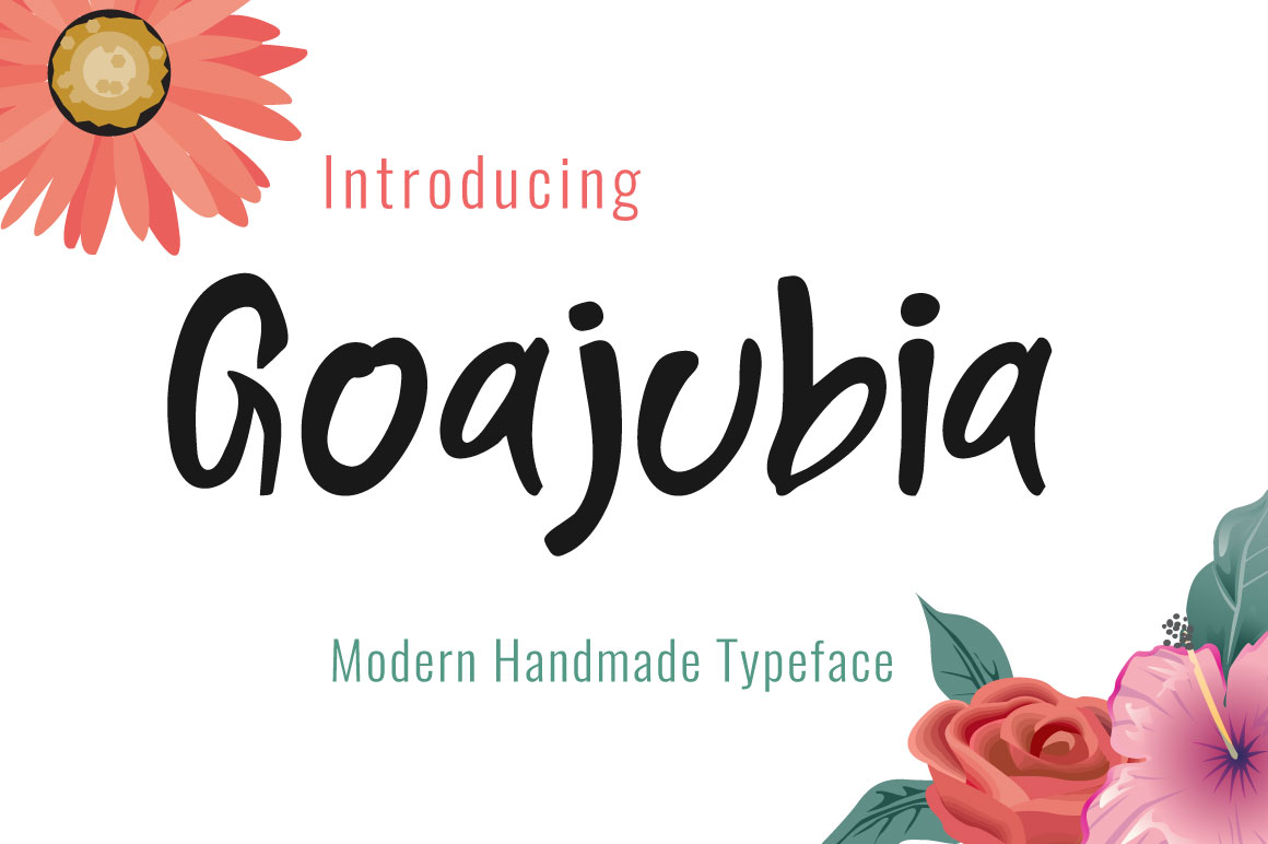 Goajubia Typeface example image 2