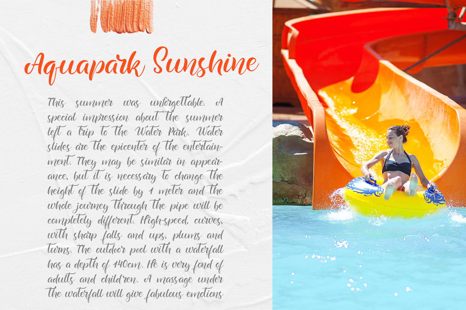 Summer Beach Handwriting Font example image 9