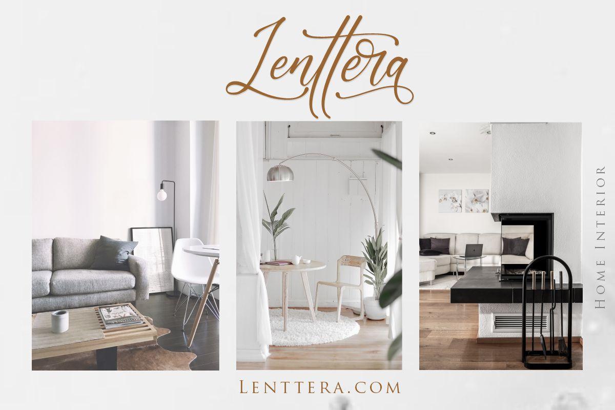 Lenttera | Beauty Style Calligraphy example image 9