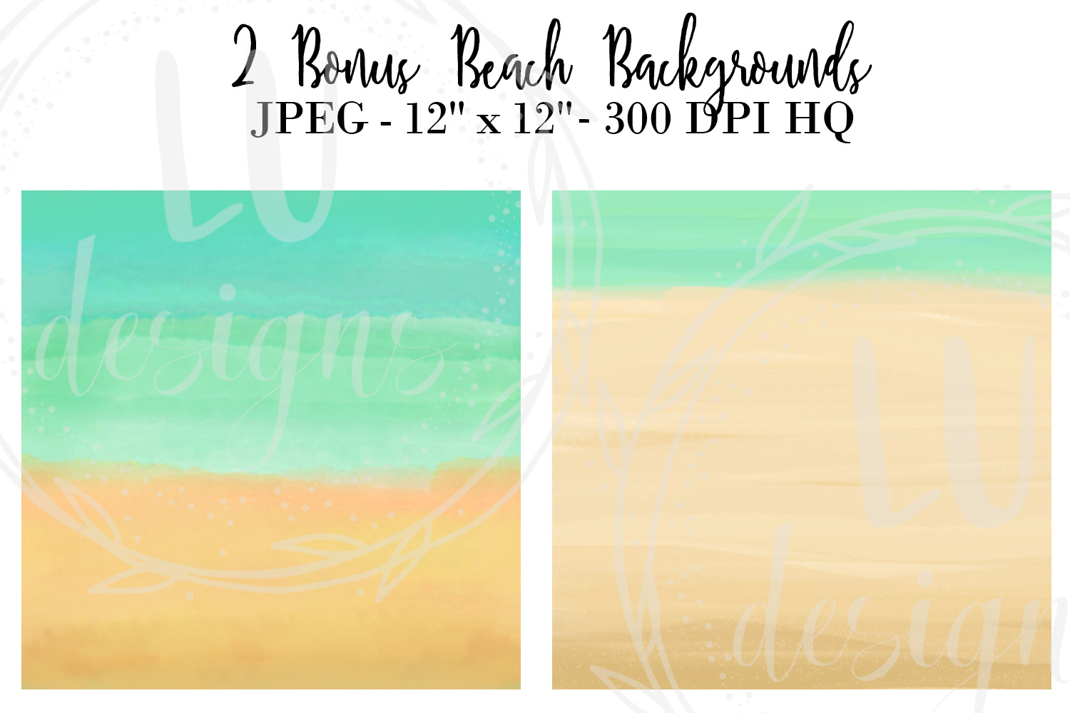 Summer Girls Clipart, Beach Clipart, Girl Illustrations example image 6