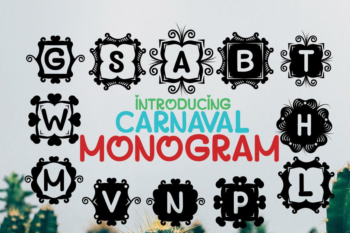 MONOGRAM CARNAVAL example image 3