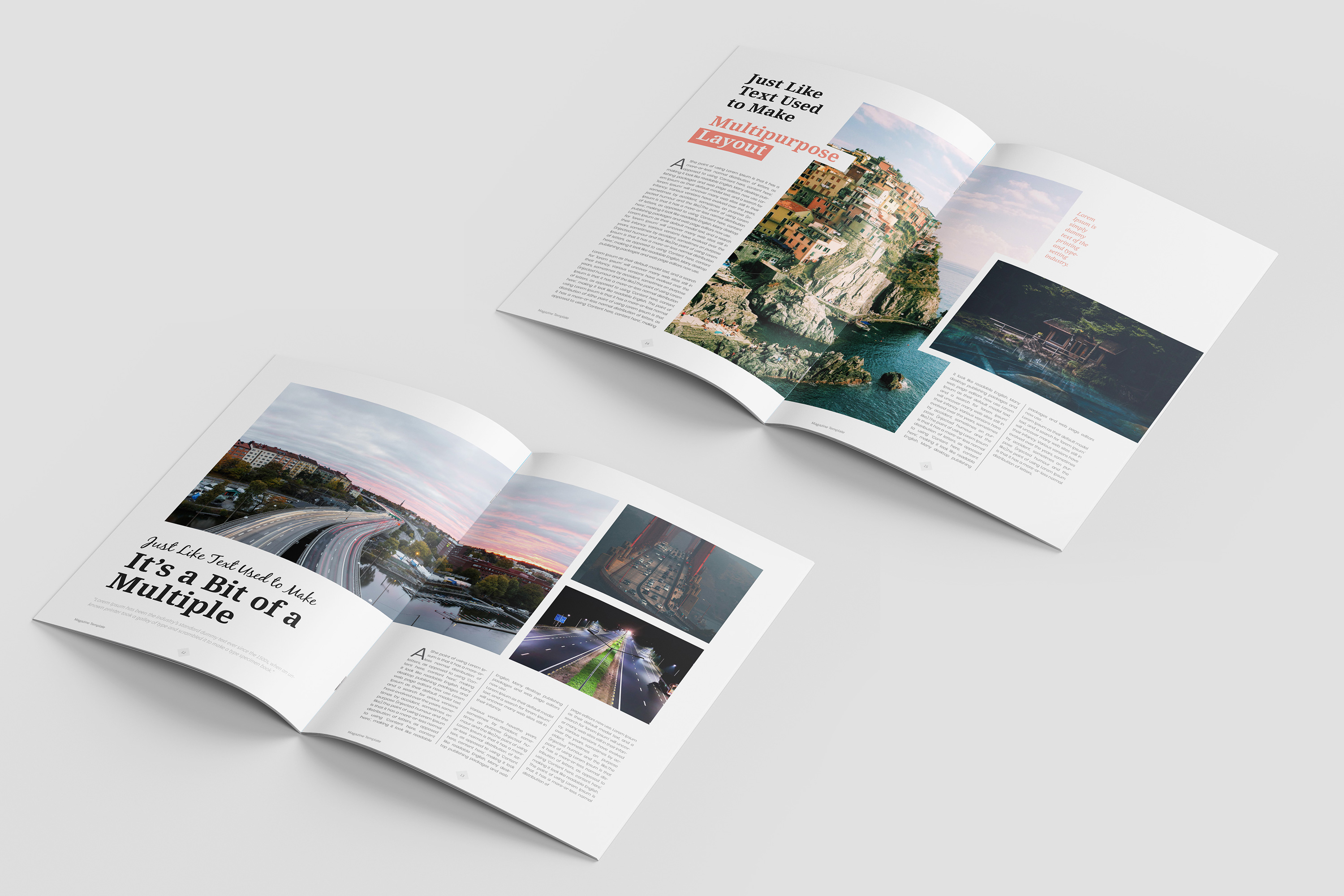 Travel Magazine Template example image 5