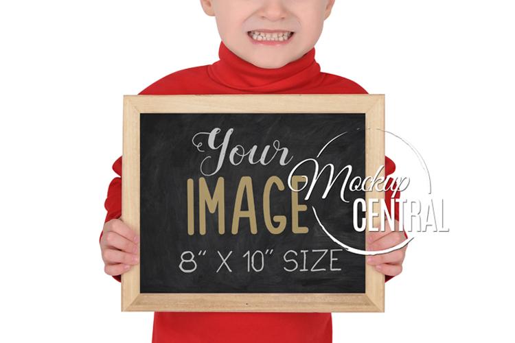 Children's School Frame Sign Mock Up, JPG & PNG Mockup example image 2