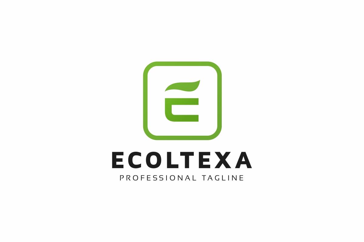 Ecoltexa E Letter Logo example image 1