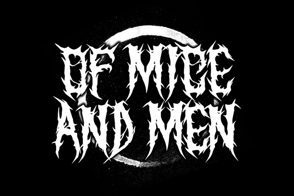 SARKEM TECHNICAL DEATH METAL FONT example image 4
