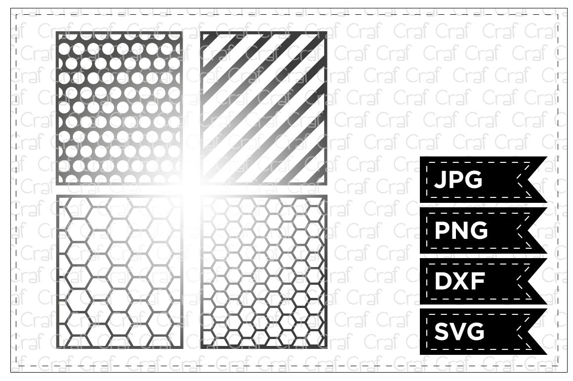 8 Geometric Stencils example image 1