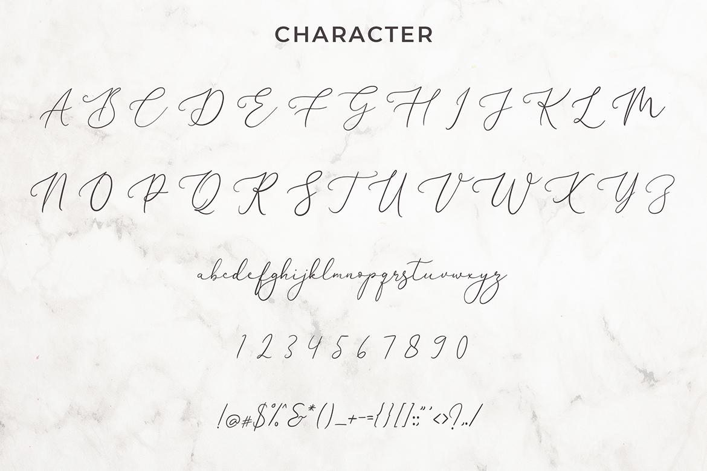 Brianna Qasim Calligraphy Font example image 6