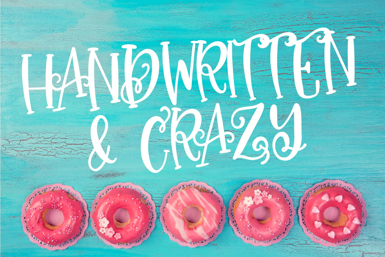My Favorite Fonts - Crazy Good Deal! - 17 fonts! example image 4