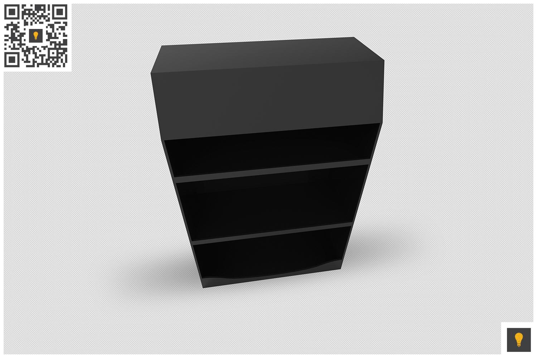 Promotional Shelf Display 3D Render example image 2