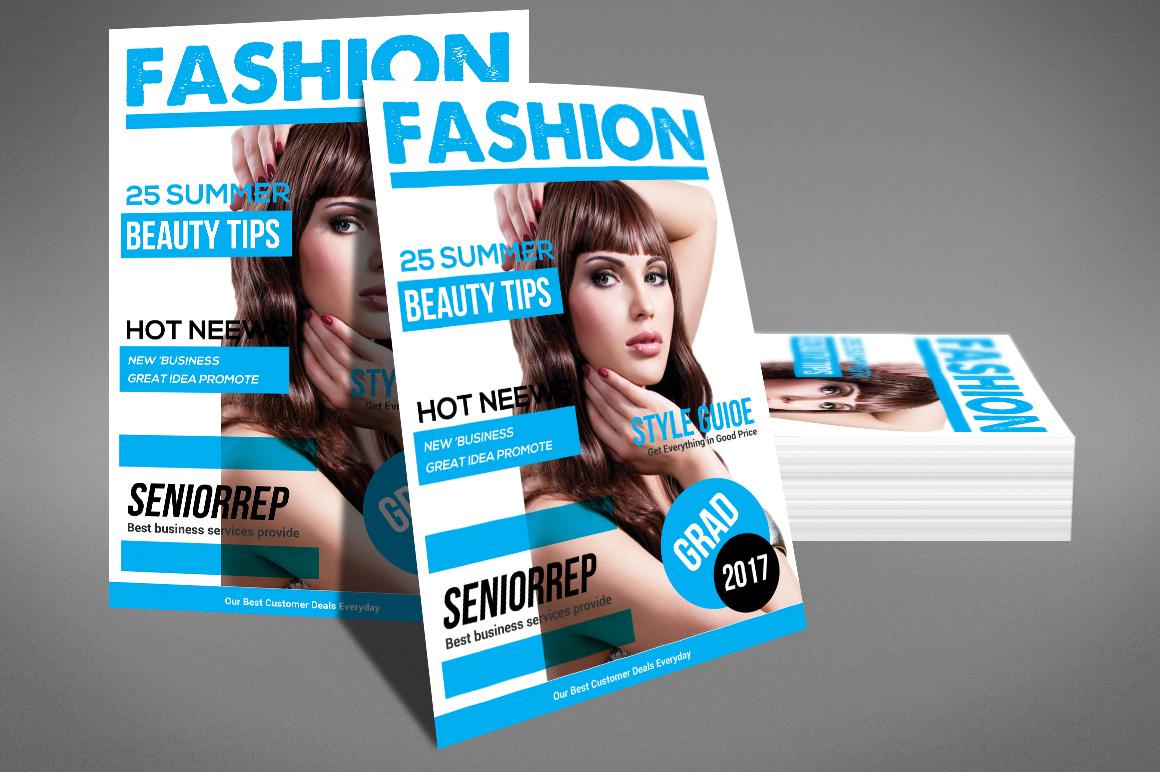 Magazine template by sanaimran design bundles magazine template example image 4 flashek Choice Image