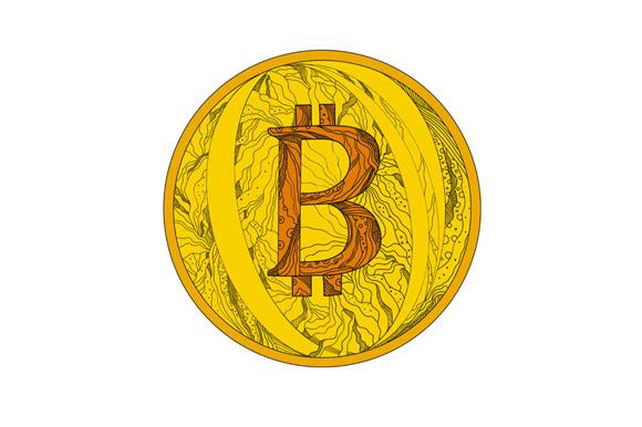 Bitcoin Doodle Art example image 1